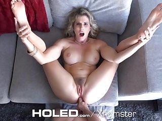 HOLED - Virgin boy anal hardcore fucks gaffer tits stepmom Cory Chase