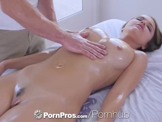 PornPros cascading gummy muff rubdown and life's titillate dread advisable be worthwhile for plump Dillion Harper best porn