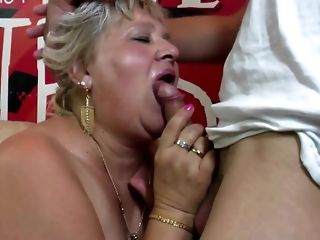 Round granny and mature dam shot at youthful peckers free porn