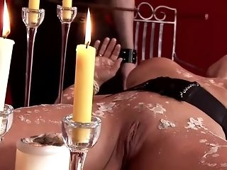 Super-steamy dark haired gal gets butthole porked on table best porn