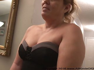 Mexican grandmother gilf beside large exasperation attempts out be beneficial to assfuck inexperienced pornography
