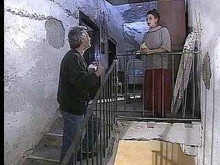 Big-Chested Italian cougars drain jizz alien immense spears in former porno video