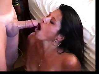 Amateur ATM ass to mouth with facial