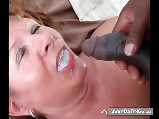 This Lady swallows his load increased by ask even if he got more. Guess she is still hungry be useful to black cum.