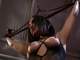 Lesbian domination and strap in the sky action