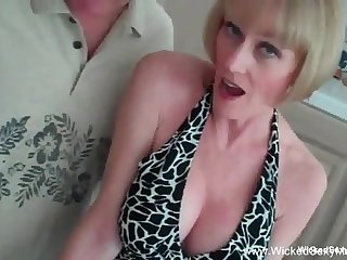 Beautiful and downcast mature loves to give head in this blowjob from the outstanding Wicked Sexy Melanie.