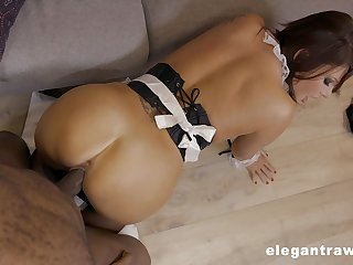 Tight maid leaves the master to bang their way here POV