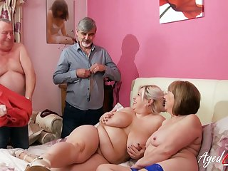 AgedLovE Busty Matures Experiencing Hardcore Sex