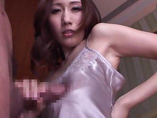 Julia masturbation fast in remarkable timid silk satin Camisole Set MIDE-192