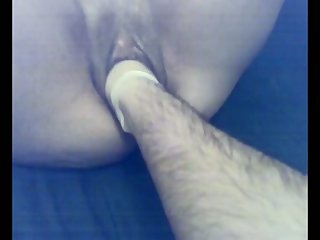 My loose lusty wife is partial to some brutal pussy fisting