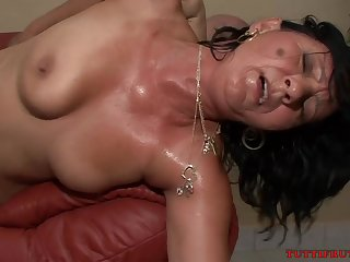 Felicitous Mommy Casting - GILF Sexual connection