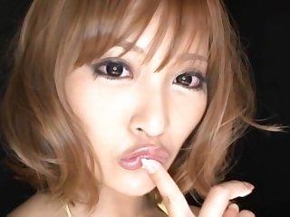 Pretty Japanese girl Kirara Asuka loves playing with their way pussy