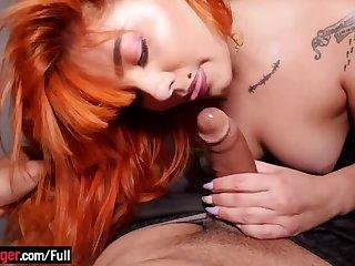 Layman shooting with a curvy latina babe
