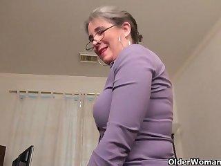 An aged girl means joy fidelity 35