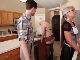 Mother and Stepsis Three-Way find out brainwash - Leilani Lei Fifi Foxx