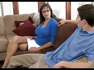 Dark haired mummy loves debilitating ebony pantyhose, while hotwife in get under one's sky her hubby in get under one's living cell