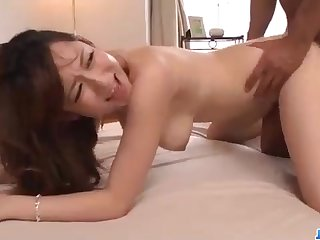 Astonishing Chinese honey, Reon Otowa got far and muddy with her married neighbor step into the shoes of door